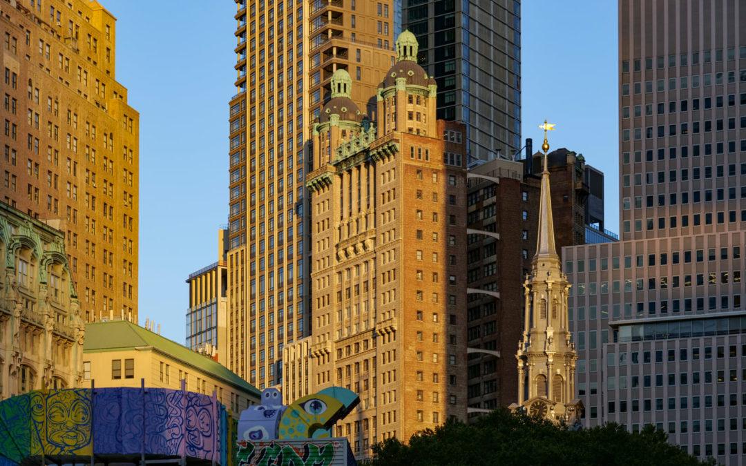 Архитектурные детали Манхэттена