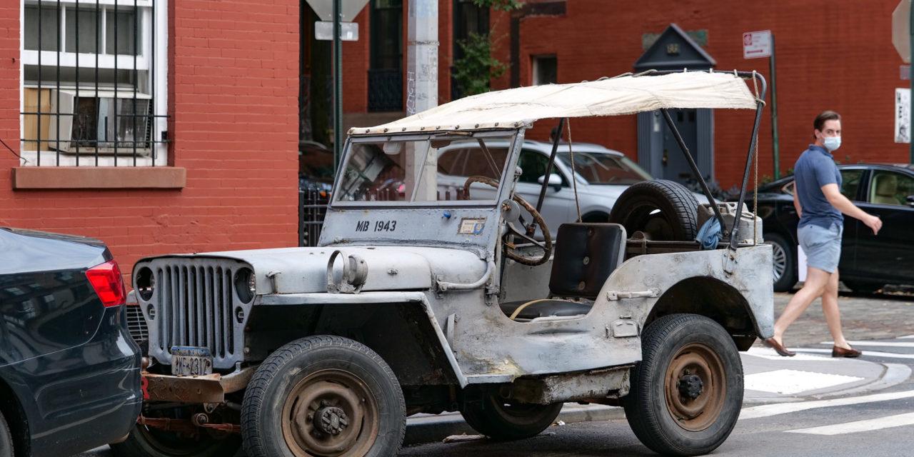 Старые автомобили на улицах Нью-Йорка – 31