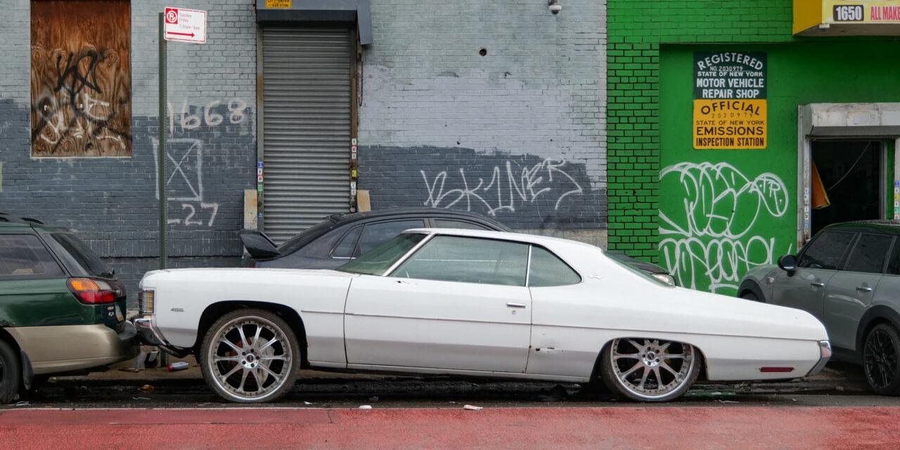 Занесло тут давеча в Бронкс