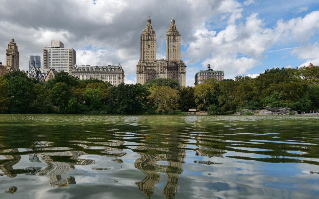 Нью-Йорк в конце сентября